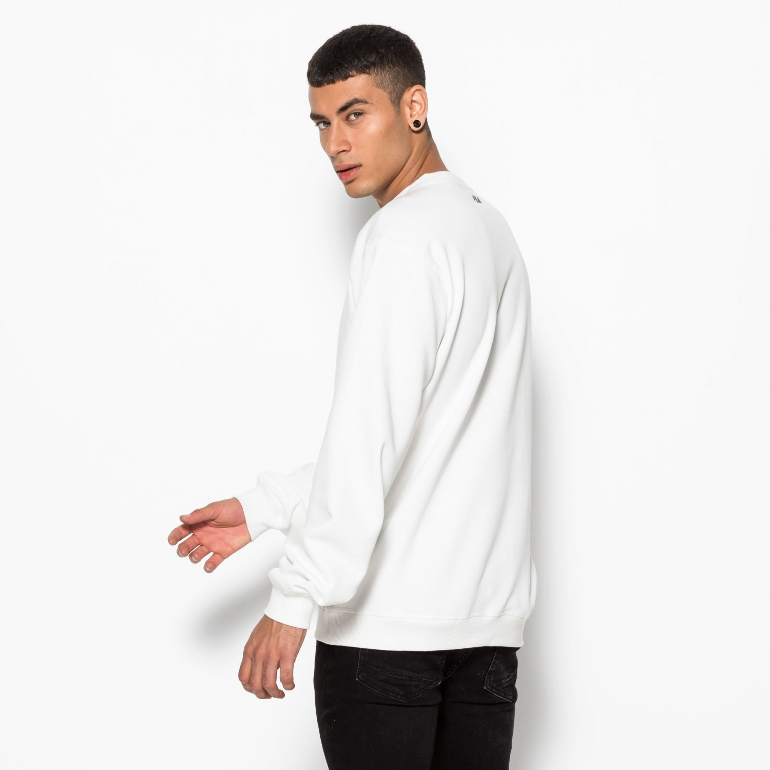 Fila Classic Pure Crew Sweat white Bild 3