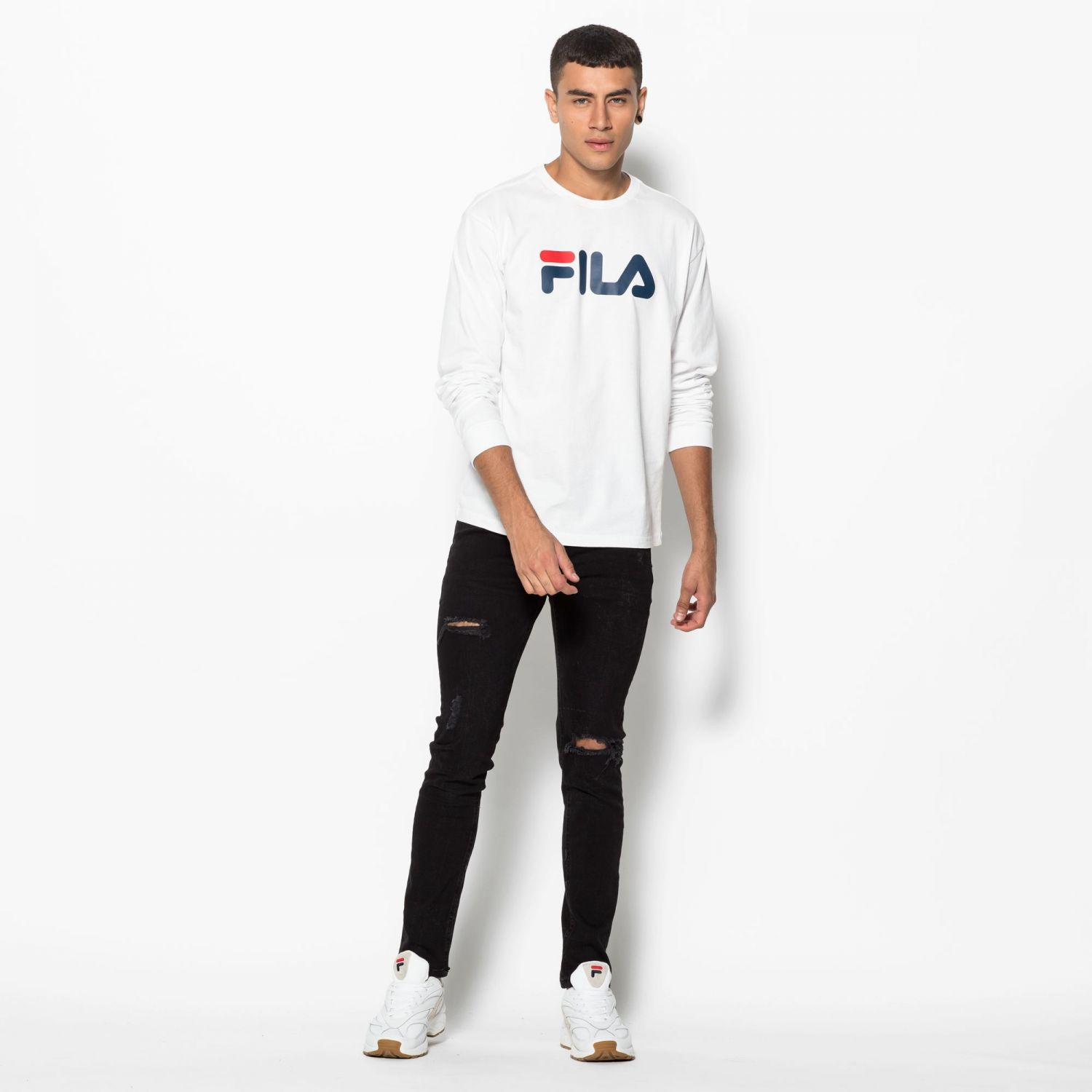 Fila - Classic Pure Long Sleeve Shirt - 000142016580...  0aae9a4ea42