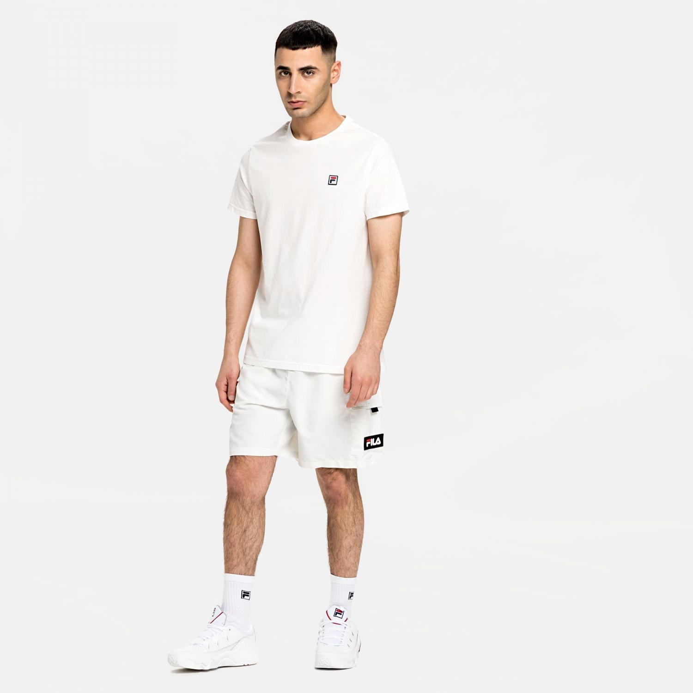 Fila Colm Woven Shorts blanc-de-blanc Bild 3