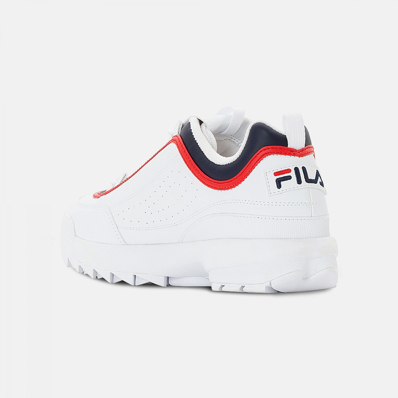 Fila Disruptor CB Low Men white-navy-red Bild 3