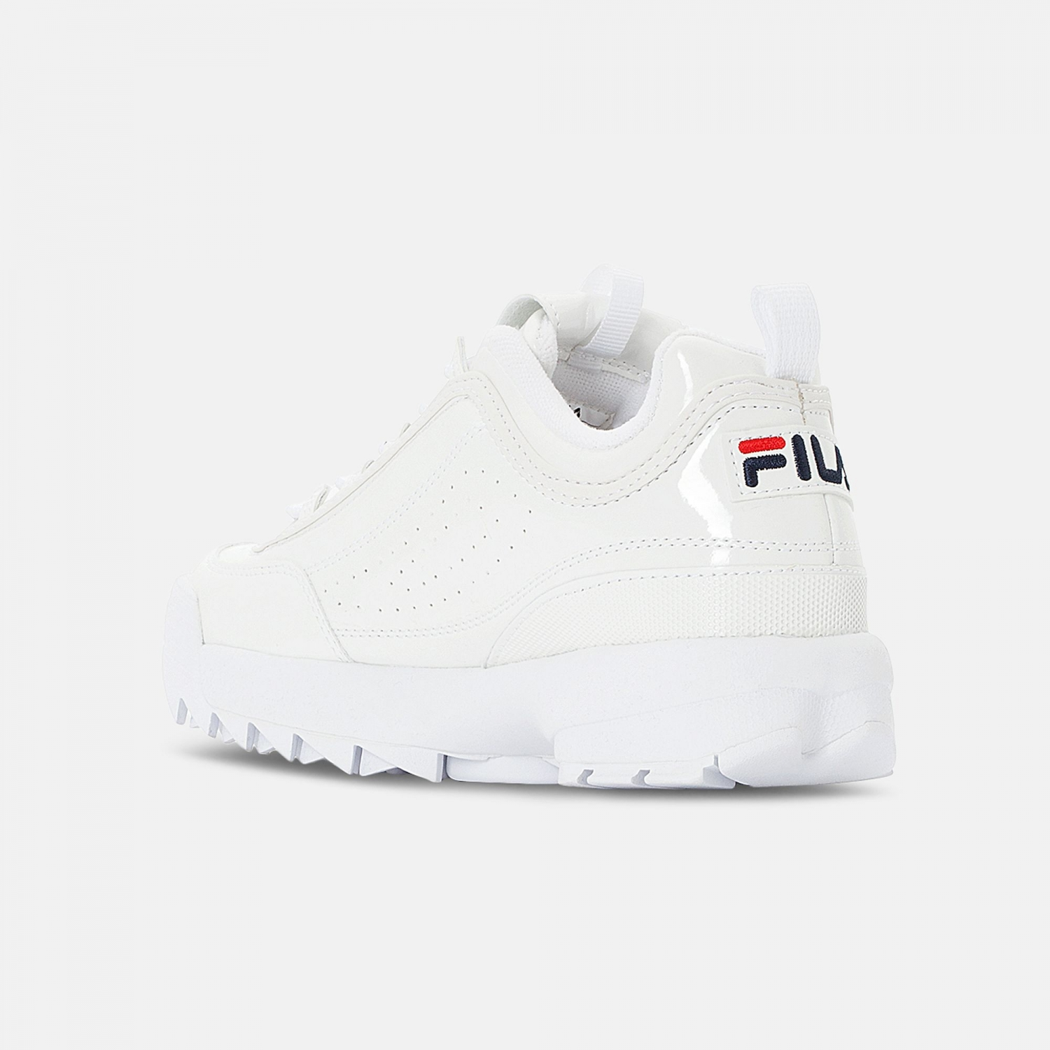 Fila Disruptor M Low Wmn shiny-white Bild 3