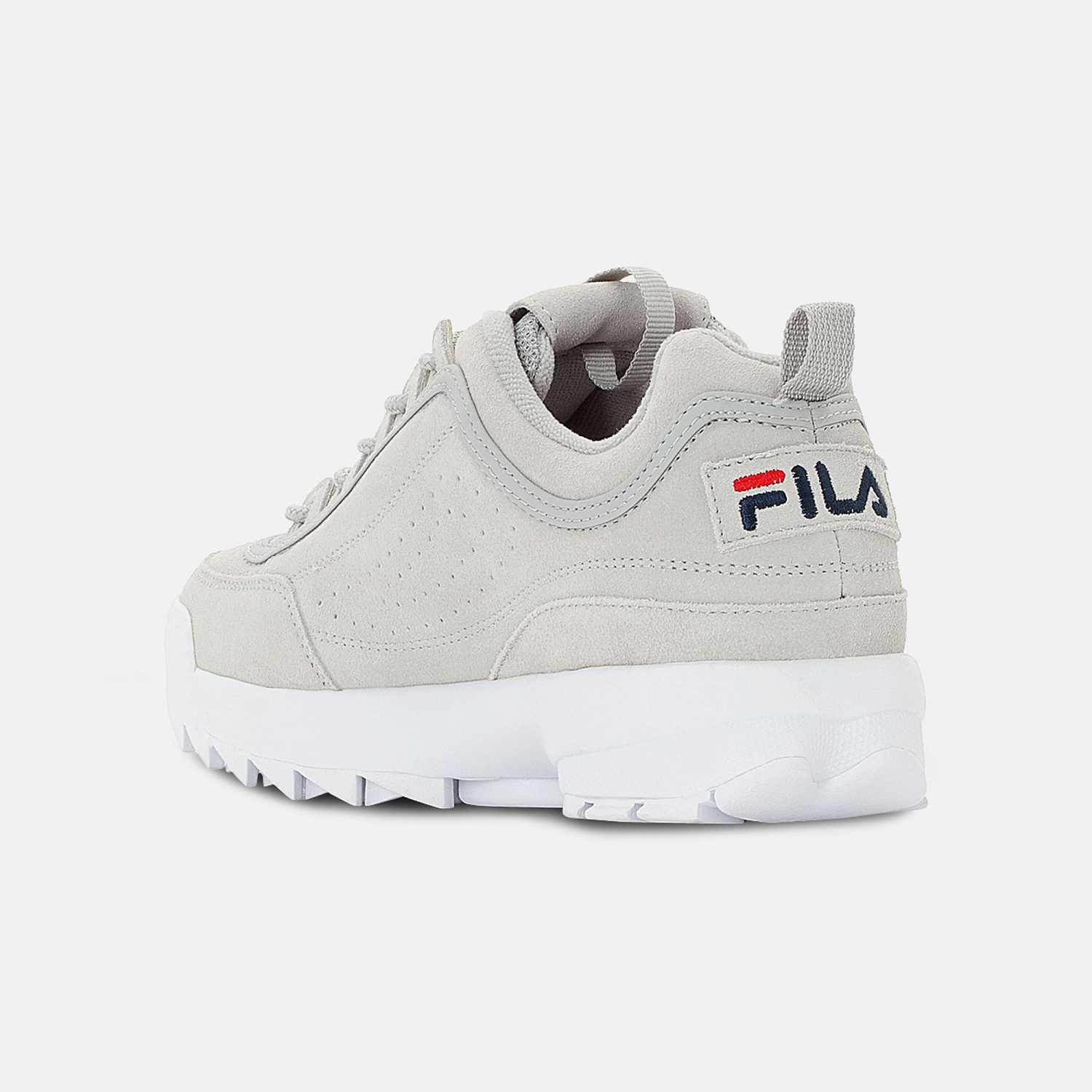 Fila Disruptor S Low Men gray-violet Bild 3