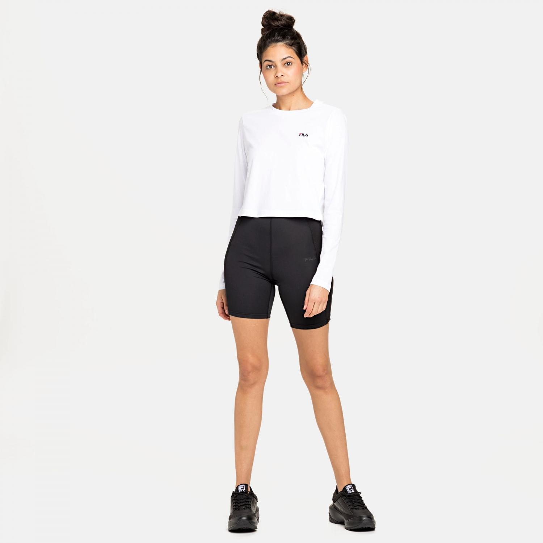 Fila Eaven Cropped Long Sleeve Shirt white Bild 3