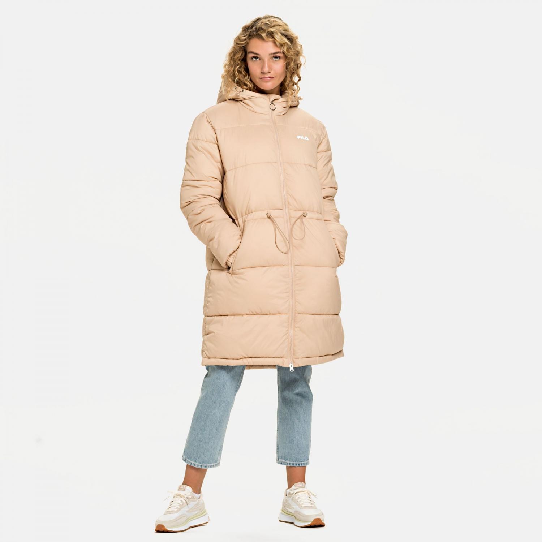 Fila Embla Long Hooded Puff Jacket cuban-sand Bild 3