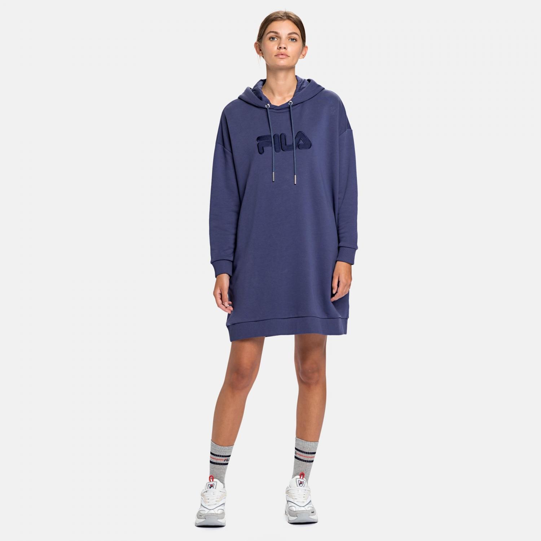 Fila Felice Oversized Hoody Dress crown-blue Bild 3
