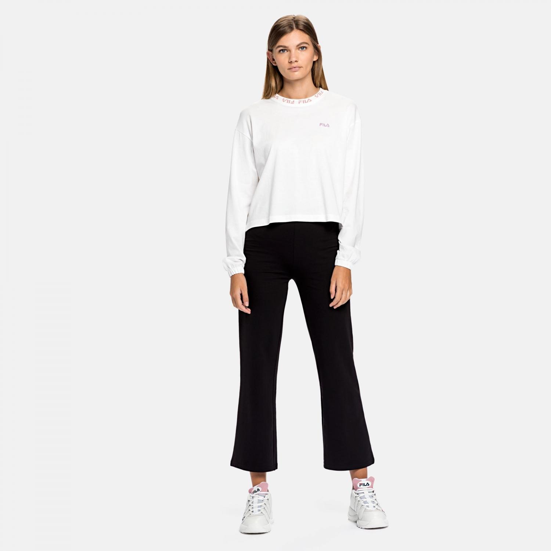 Fila Feryal Cropped Long Sleeve Shirt Bild 3