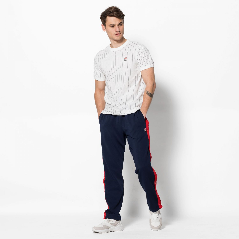 0e191d558f Fila - Guilo Striped Tee - 00014201709336 - white