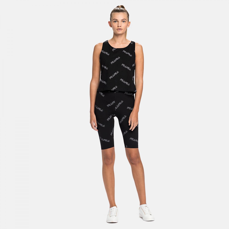 Fila Janelle AOP Shorts Leggings black Bild 3