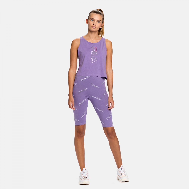 Fila Janelle AOP Shorts Leggings purple-haze Bild 3