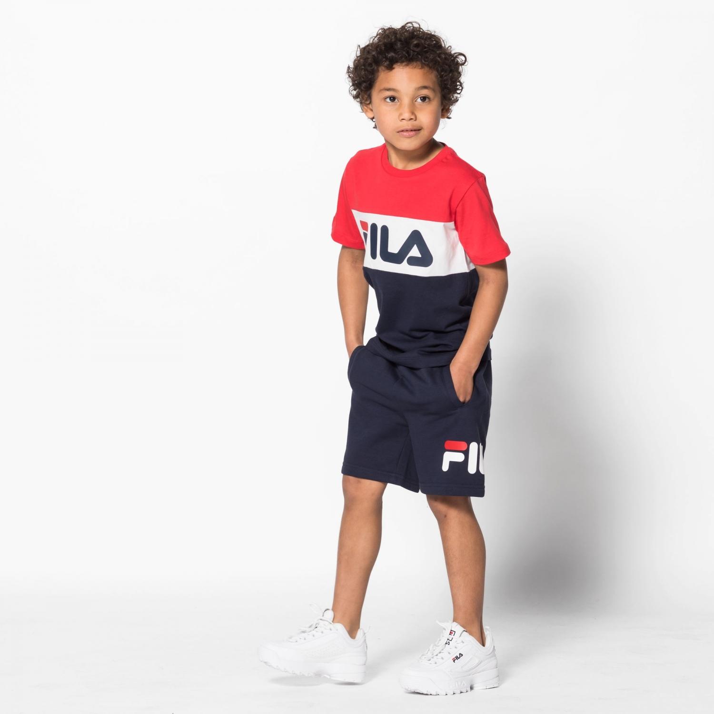 Fila Kids Classic Basic Shorts black-iris Bild 3