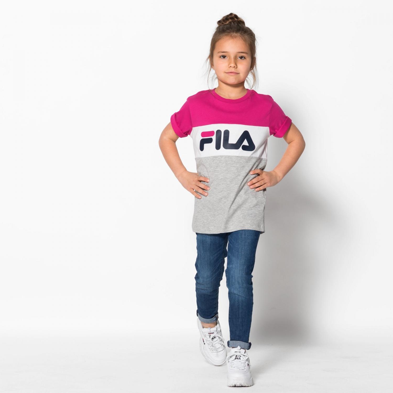 7abd8148950e0 Fila - Kids Classic Day Blocked Tee - 00014201713394...
