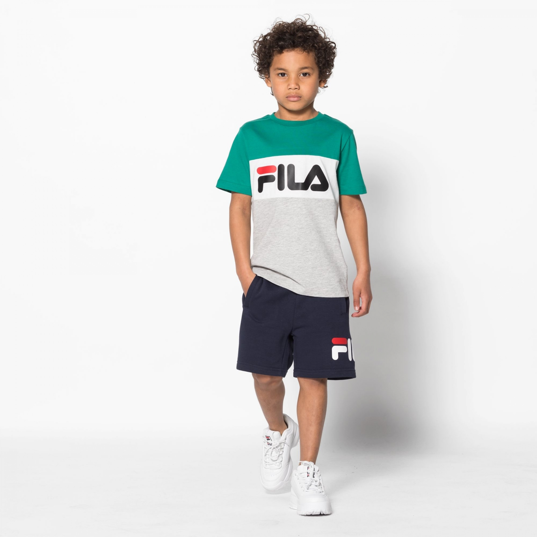 Fila Kids Classic Day Blocked Tee shady-glade Bild 3