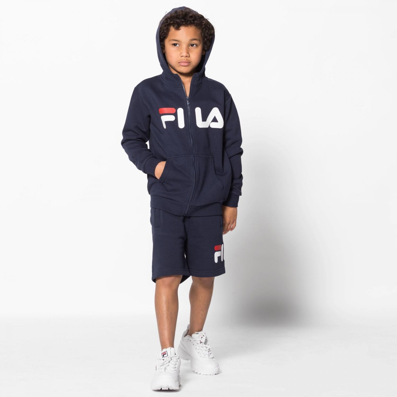 Fila Kids Classic Logo Zip Hoody Bild 3