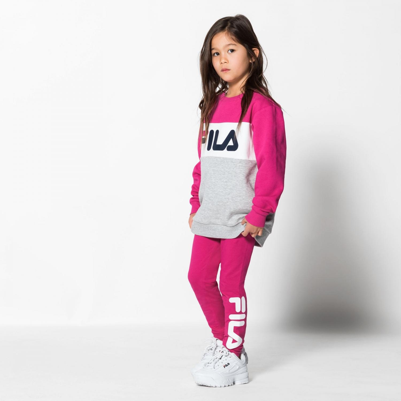 Fila Kids Flex Leggings pink-yarrow Bild 3