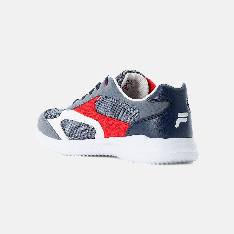 Fila Kids Forcer 1 grey-red Bild 3