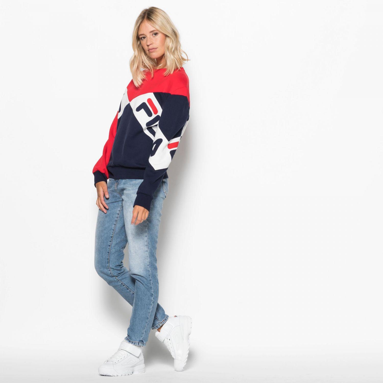 ac6b1d38378b Fila - Lidia Boyfriend Fit Shirt - 00014201657199 - red