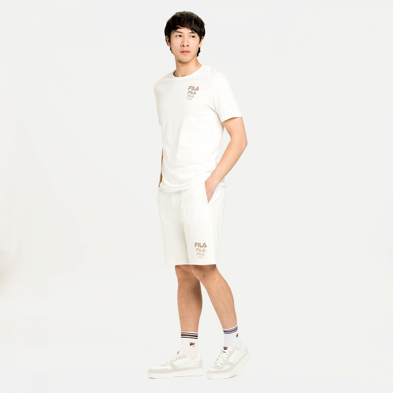 Fila Luke Sweat Shorts snow-white Bild 3
