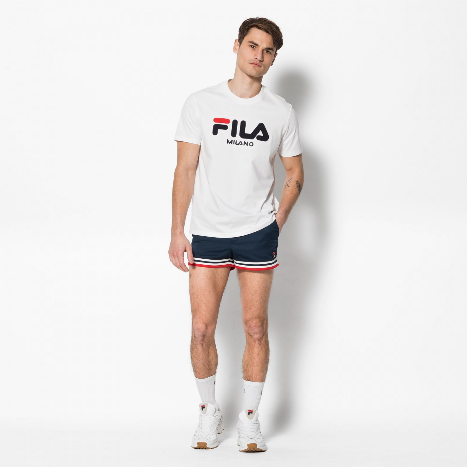 Fila Milan Fashion Week Woven Short Bild 3