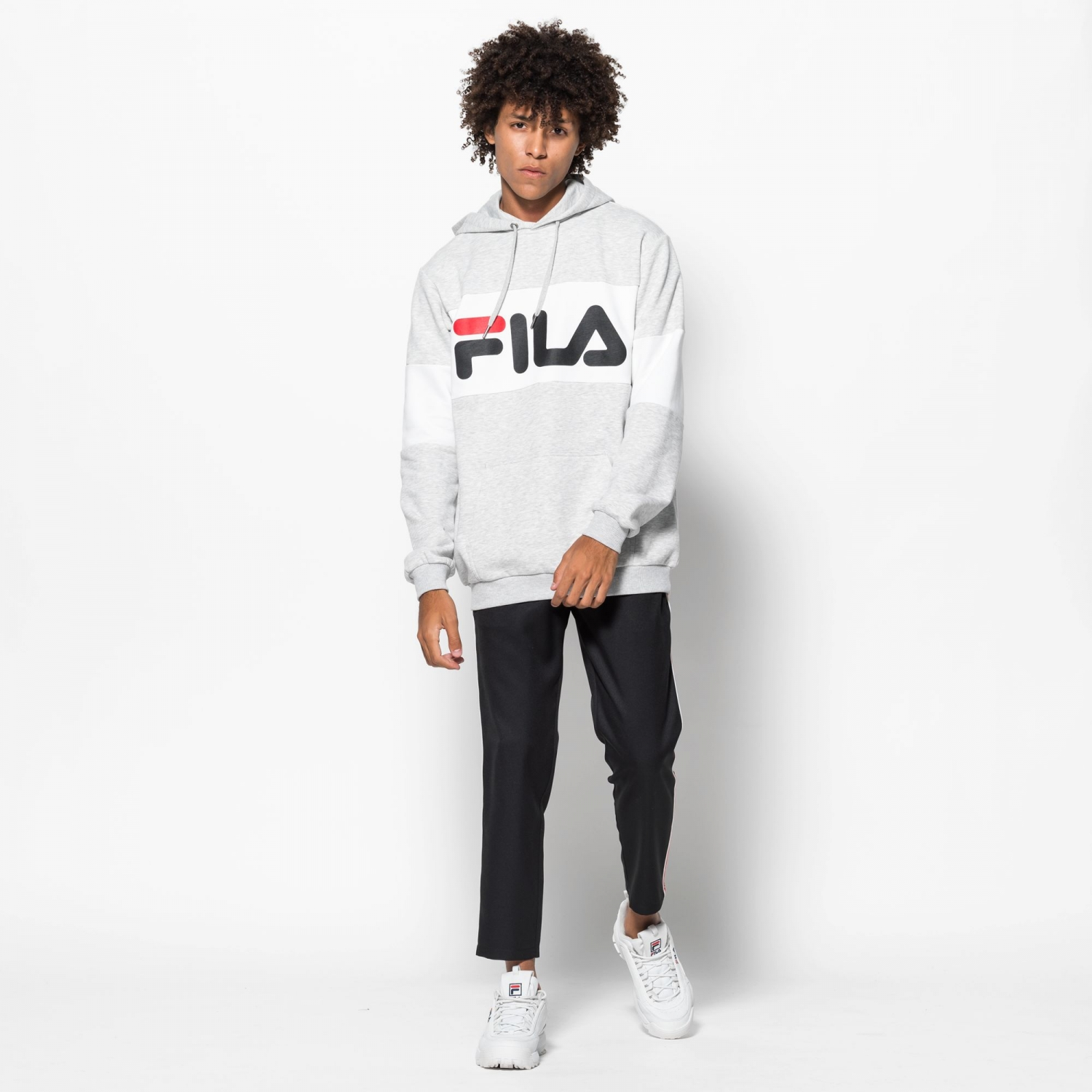 Fila Night Blocked Hoodie Bild 3
