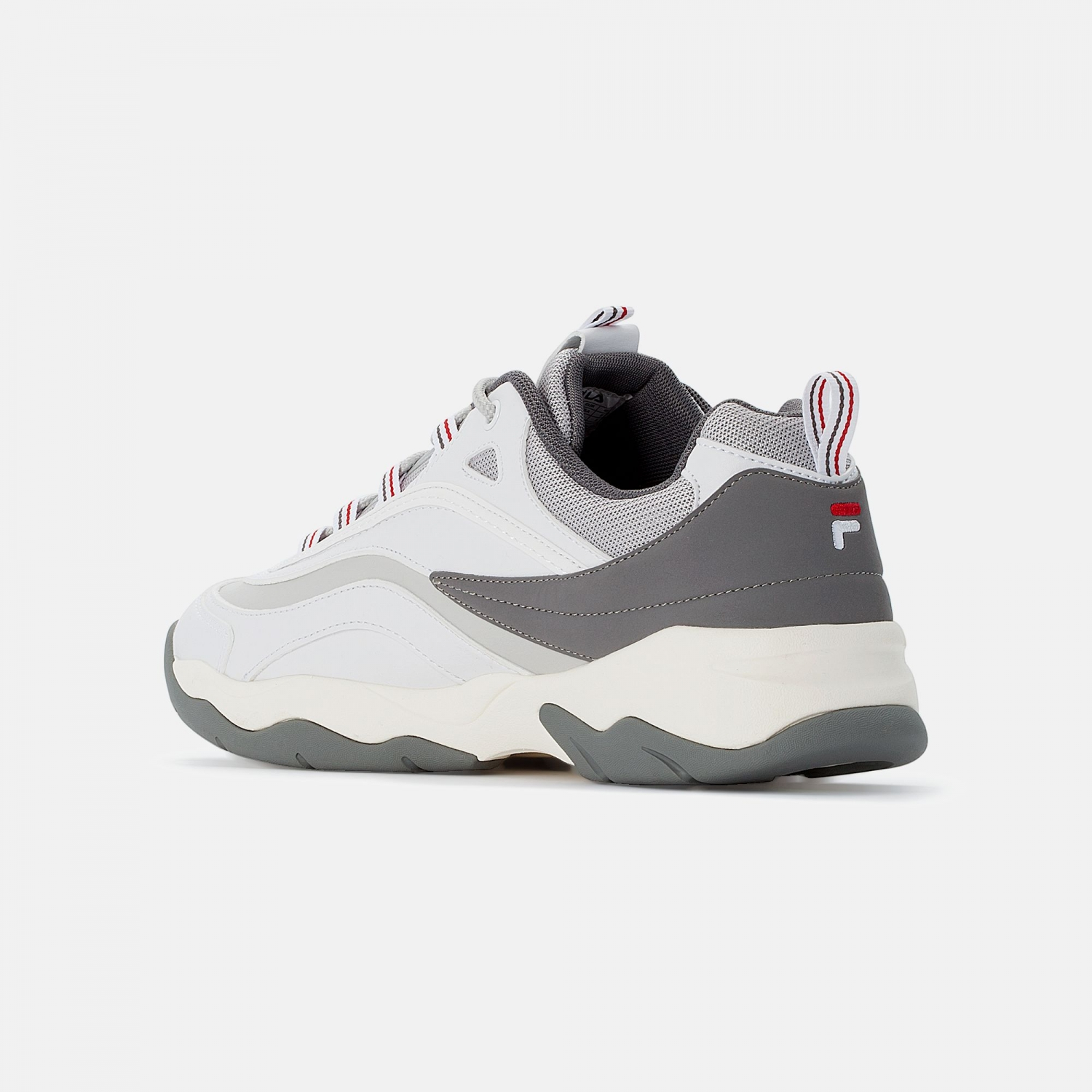 Fila Ray CB Low Men white-gray-violet Bild 3