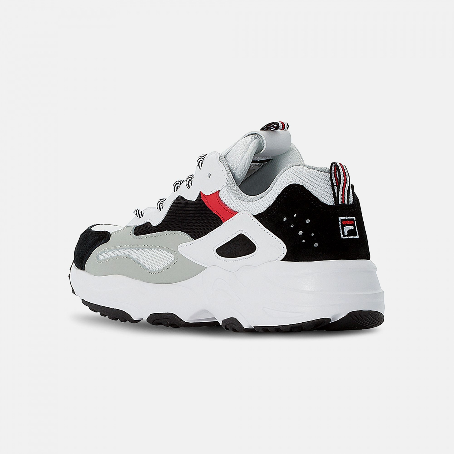 Fila Ray Tracer Men white-black-red  Bild 3