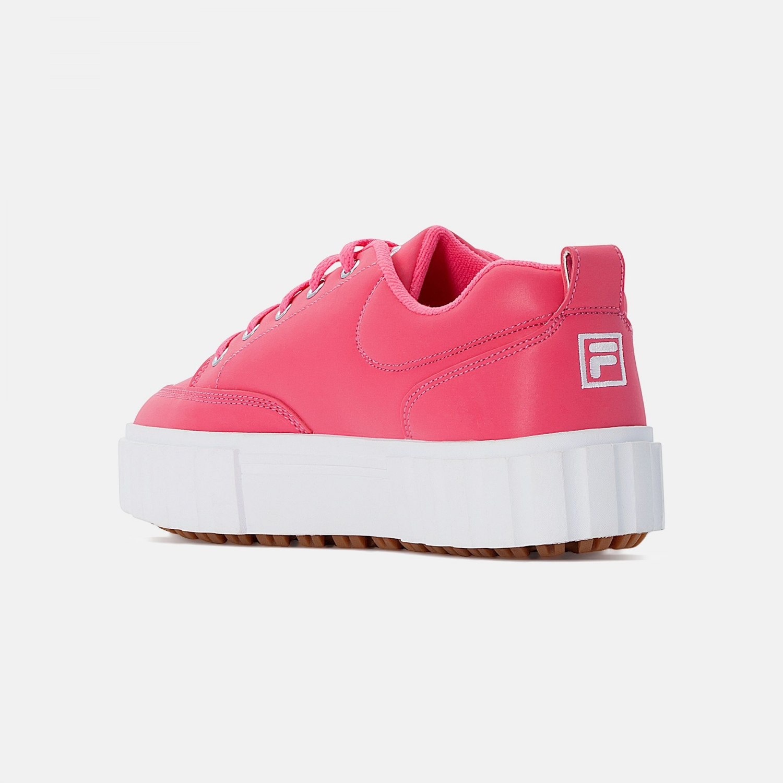 Fila Sandblast Low Wmn pink-glo-white Bild 3