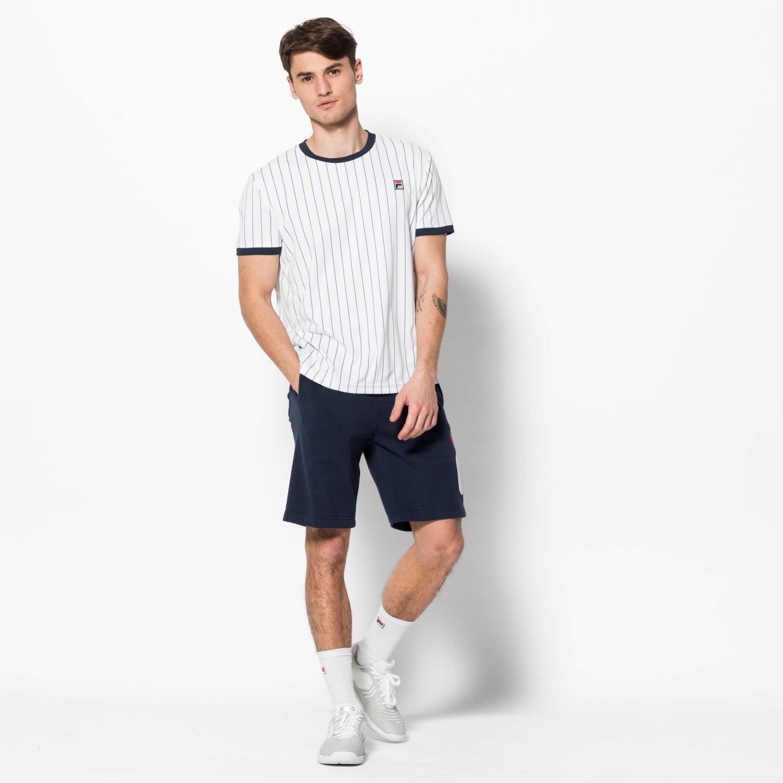 Fila Shirt Stripes white Bild 3