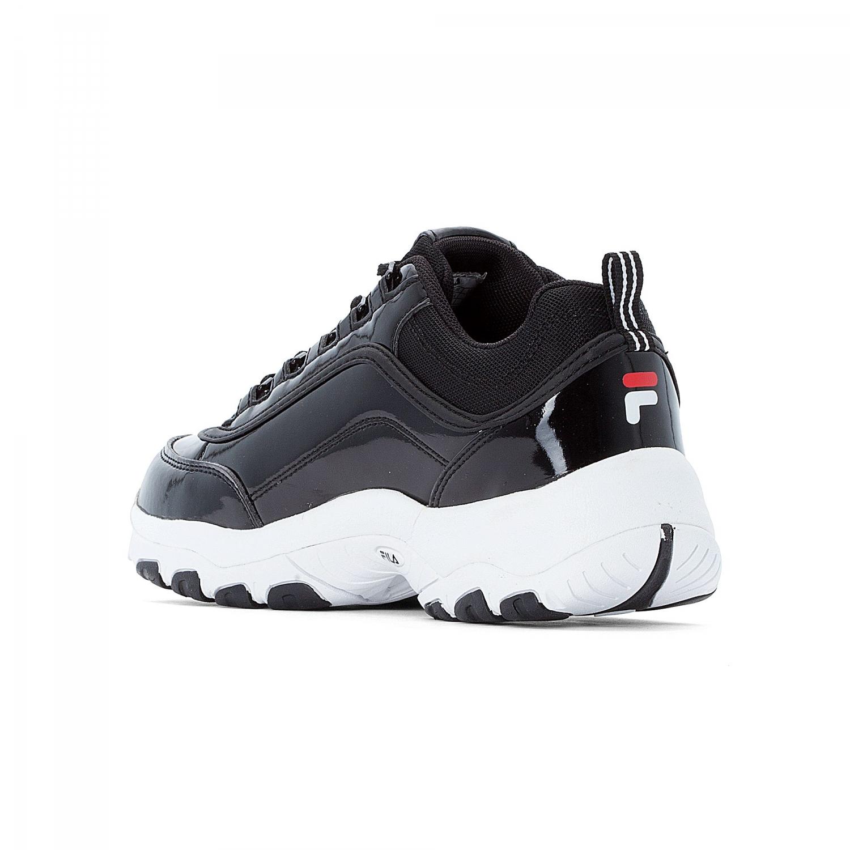 6d141bcad6e Fila - Strada M Low Wmn shiny-black - 00014201680269...
