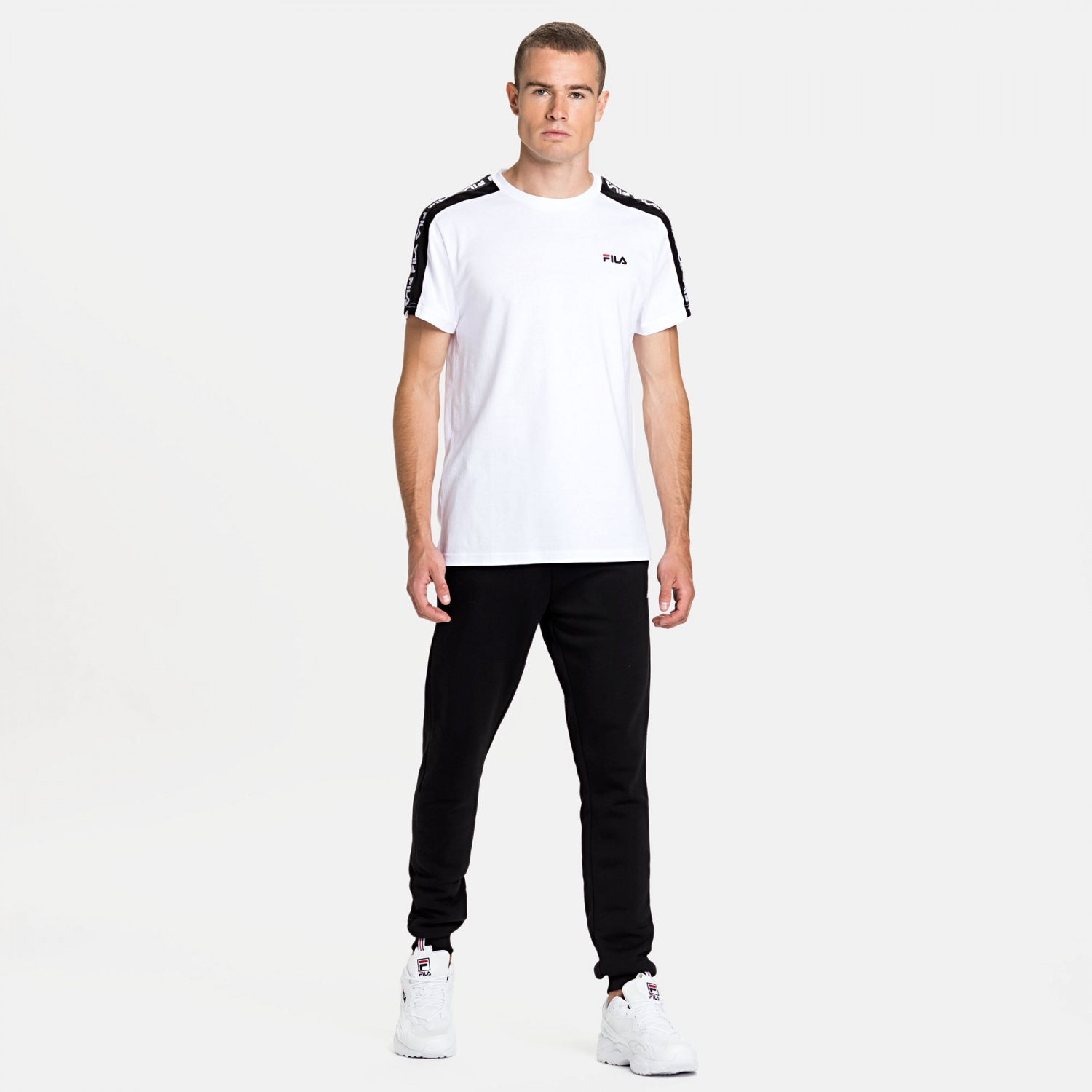 Fila Thanos Tee white-black Bild 3