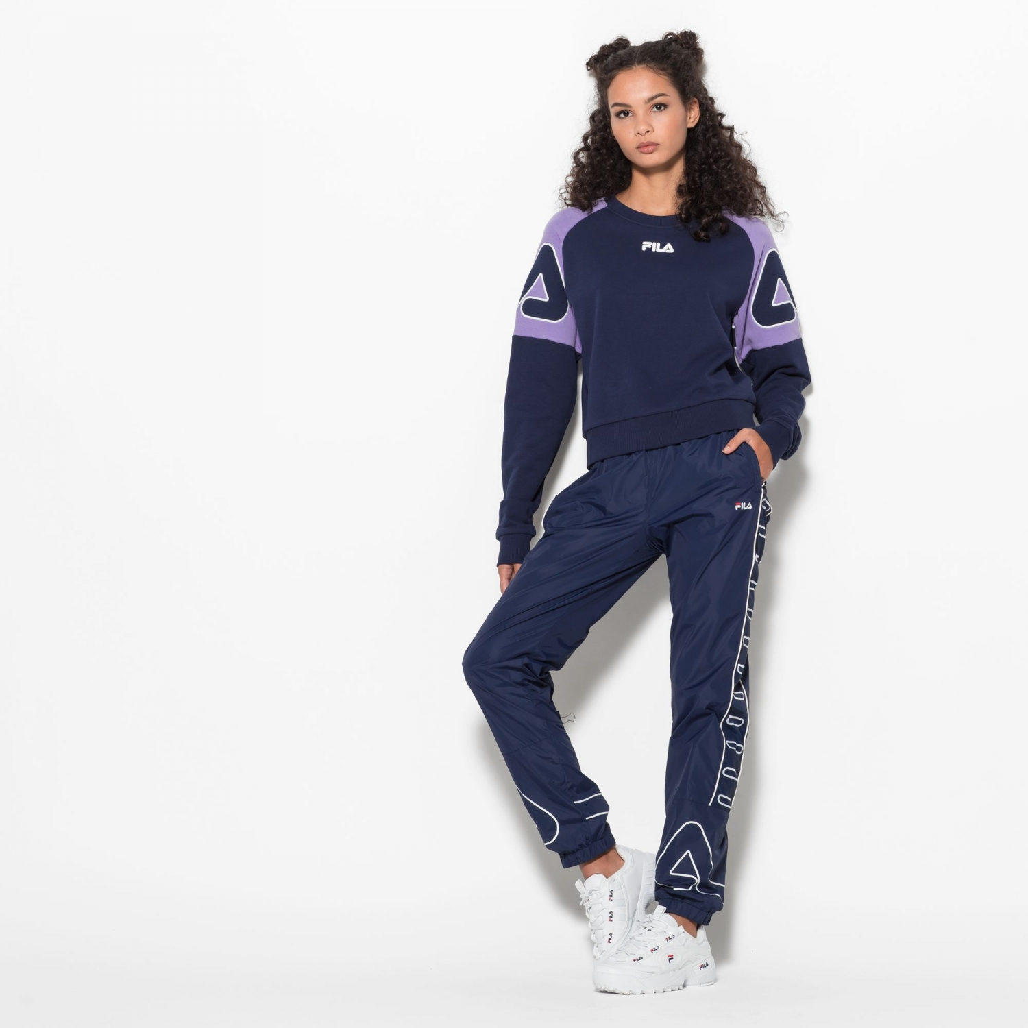 Fila Veronica Crew Sweat Bild 3