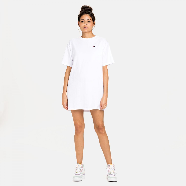 Fila Wmn Elle Tee Dress white Bild 3