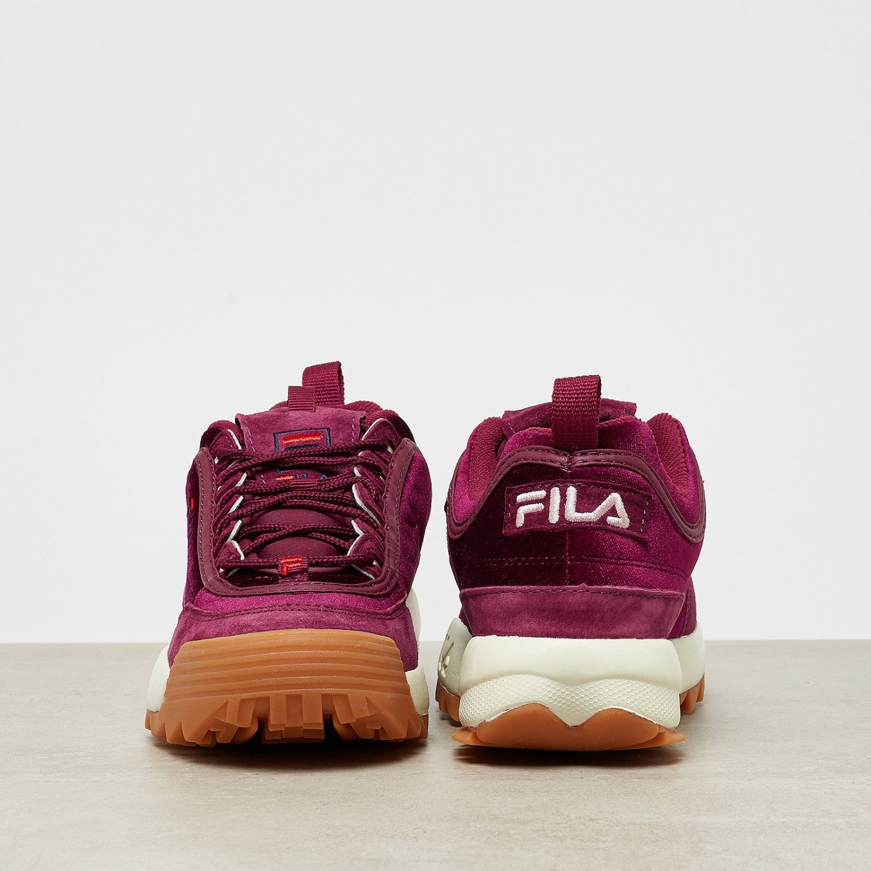 94705de56189 Fila - Disruptor Low Velvet Wmn burgundy red - 00014...