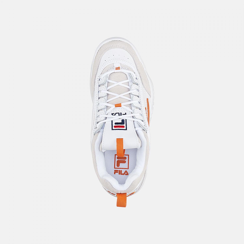 Fila Disruptor Low Wmn white-orange Bild 4