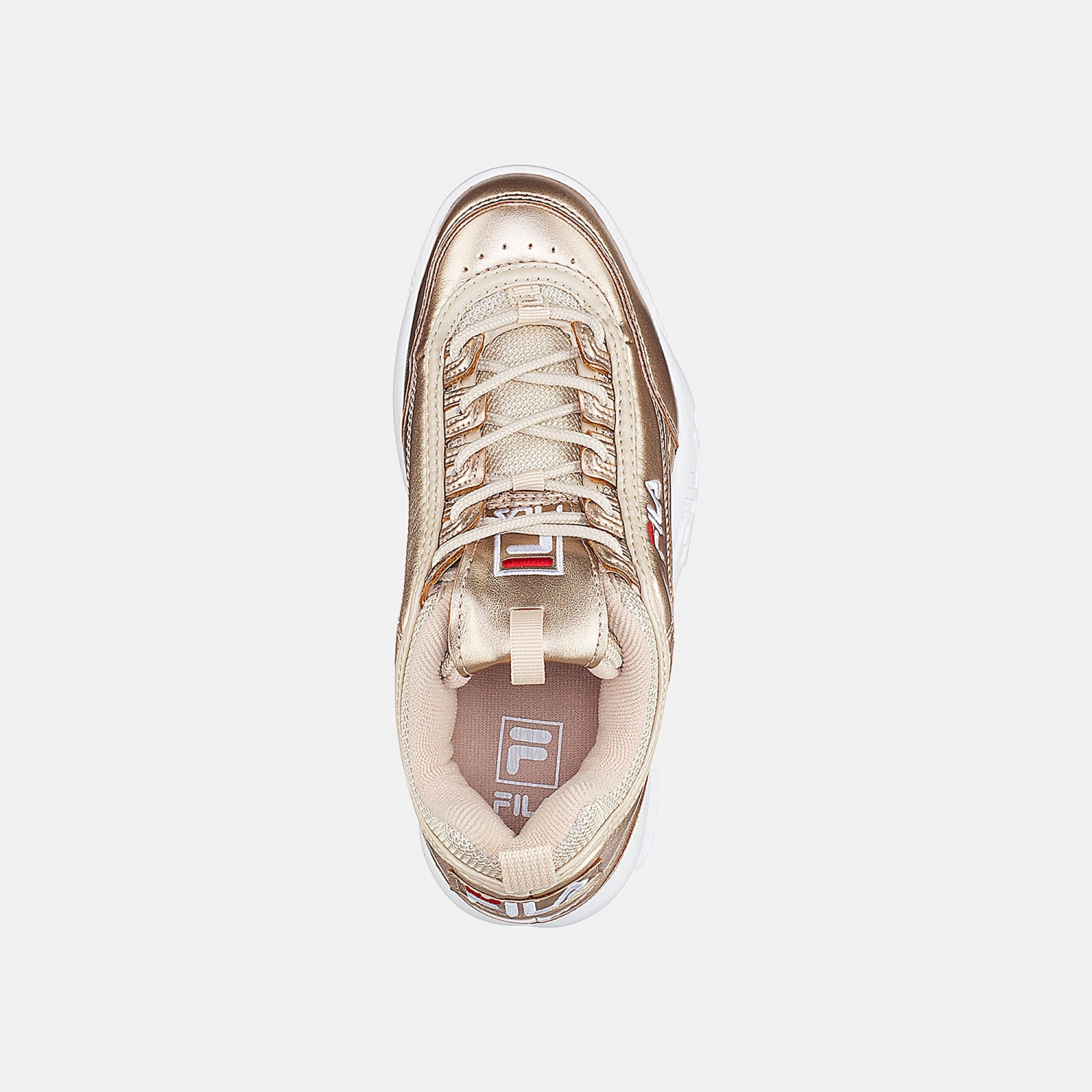 Fila Disruptor M Low Wmn gold Bild 4