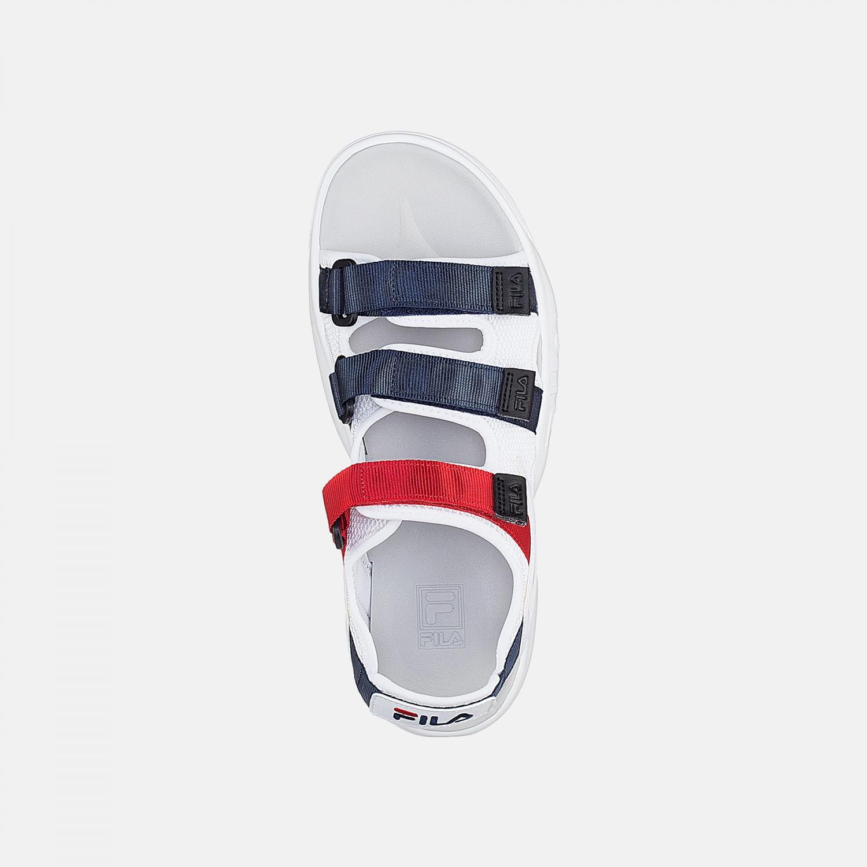 Fila Disruptor Sandal white-navy-red Bild 4