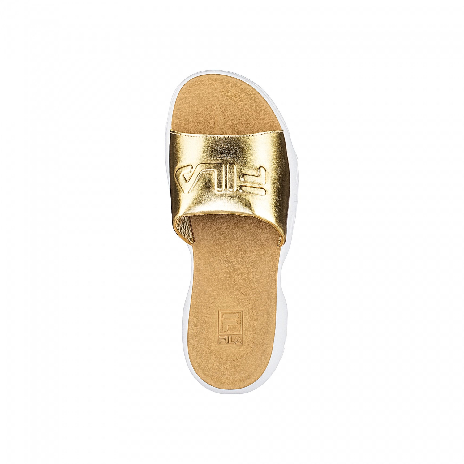 Fila Disruptor Slide Wmn Gold Gold Fila Official