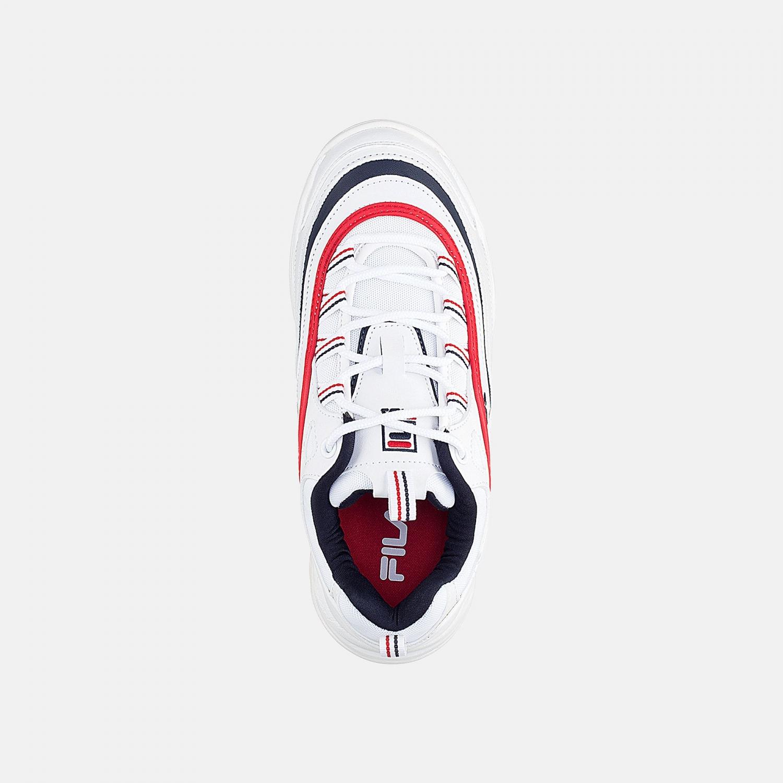Fila Ray Low Wmn white-navy-red Bild 4