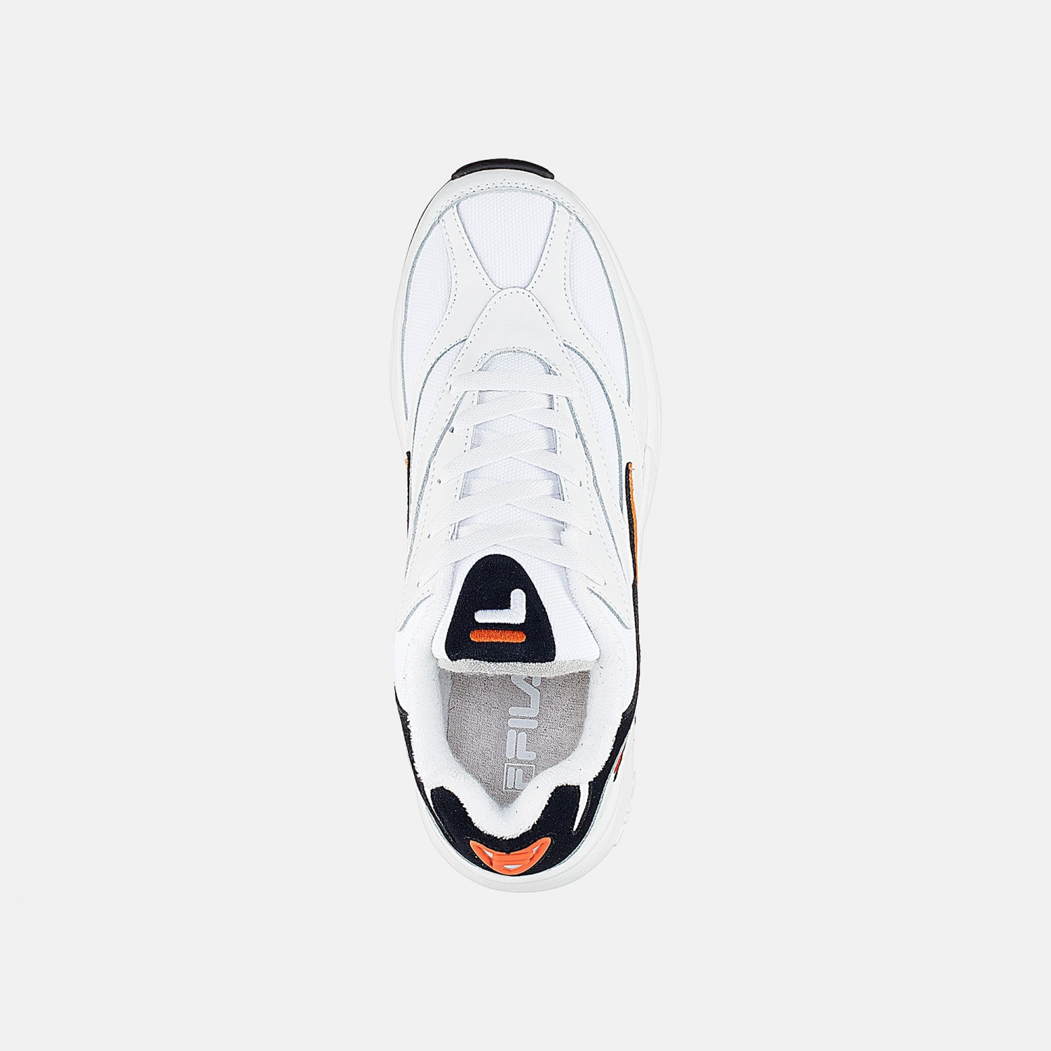 Fila  	Fila V94M Low Wmn white-navy-orange Bild 4