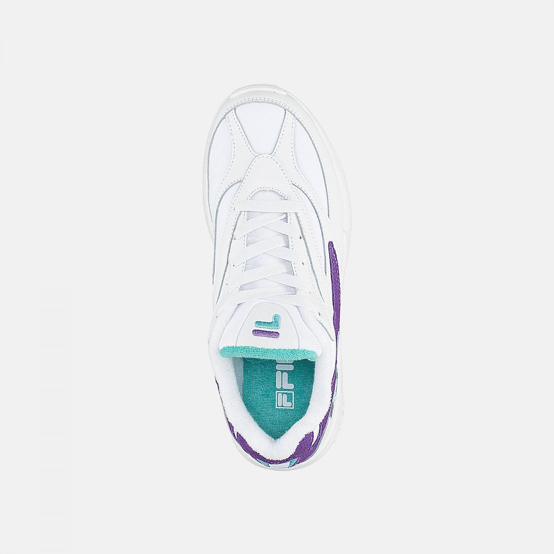 Fila V94M Low Wmn white-violet-curacao Bild 4