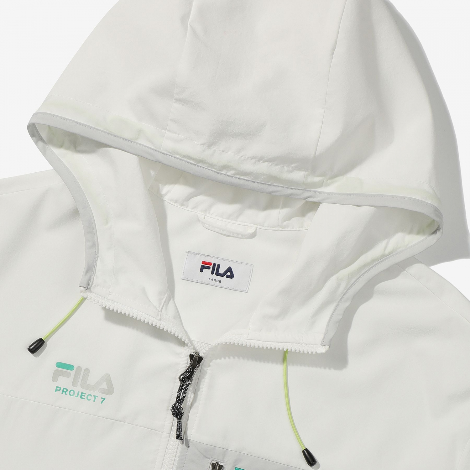 Fila Project 7 Packable Anorak offwhite Bild 6